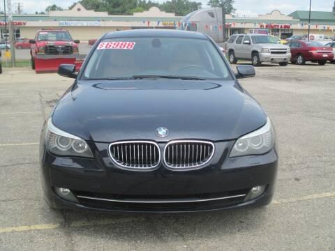 2010 BMW 5 Series for sale at Summit Auto Sales Inc in Pontiac MI