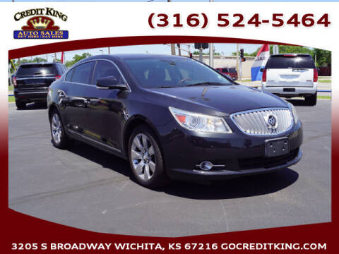 2010 Buick LaCrosse for sale at Credit King Auto Sales in Wichita KS