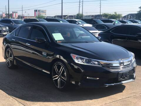 2016 Honda Accord for sale at Discount Auto Company in Houston TX