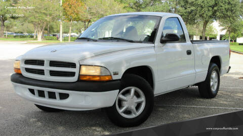 2000 Dodge Dakota for sale at Carpros Auto Sales in Largo FL
