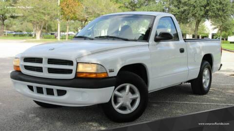 2000 Dodge Dakota for sale at Carpros Auto Sales in Largo FL