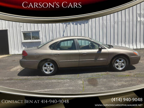 2005 Ford Taurus for sale at Carson's Cars in Milwaukee WI