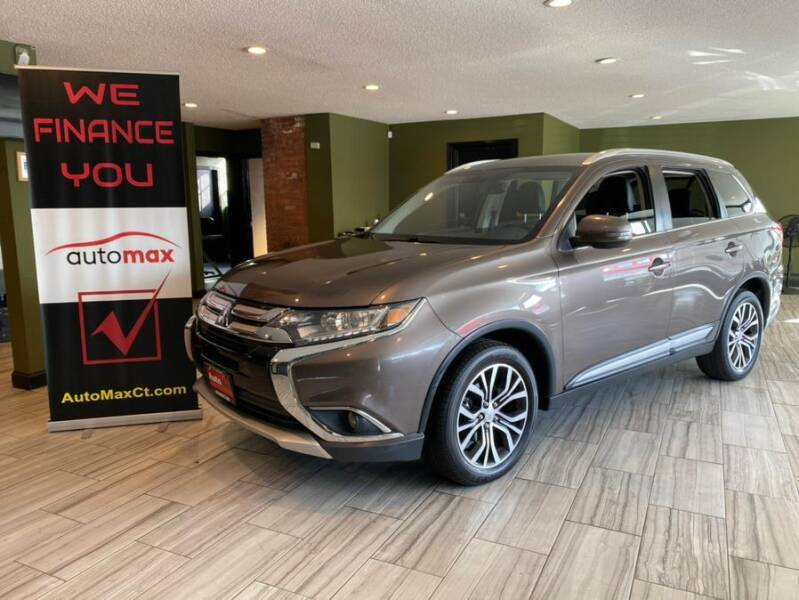 2017 Mitsubishi Outlander for sale at AutoMax in West Hartford CT