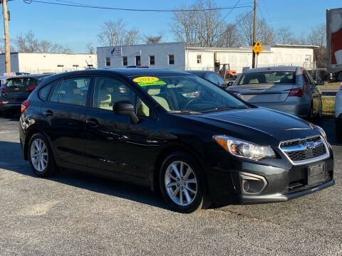 2013 Subaru Impreza for sale at MetroWest Auto Sales in Worcester MA
