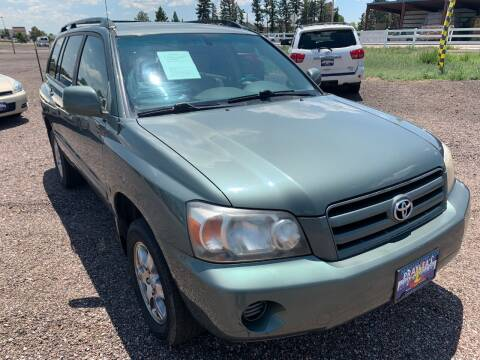 2004 Toyota Highlander for sale at Praylea's Auto Sales in Peyton CO