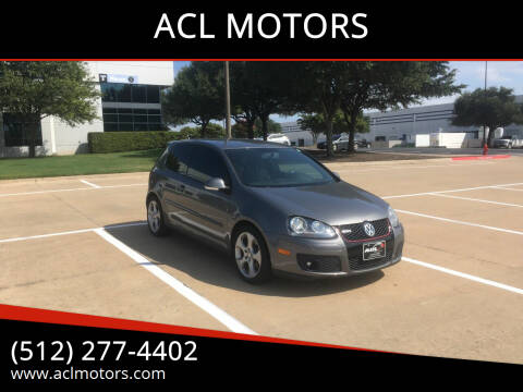 2009 Volkswagen GTI for sale at ACL MOTORS in Austin TX