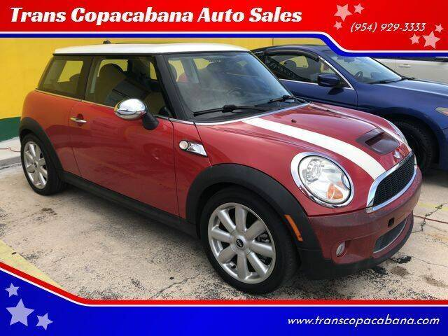 2007 MINI Cooper for sale at Trans Copacabana Auto Sales in Hollywood FL