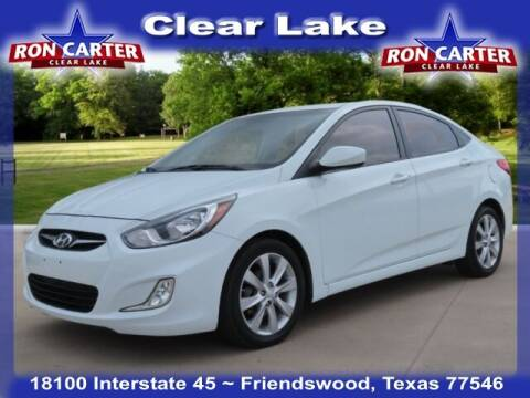 2013 Hyundai Accent for sale at Ron Carter  Clear Lake Used Cars in Houston TX