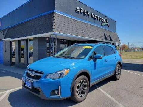 2017 Subaru Crosstrek for sale at Apex Motors in Murray UT