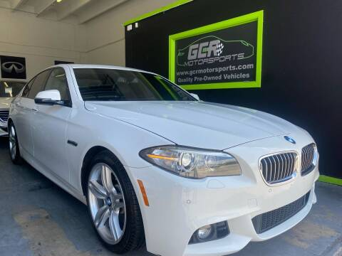 2016 BMW 5 Series for sale at GCR MOTORSPORTS in Hollywood FL