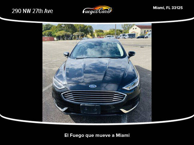 2020 Ford Fusion for sale at Fuego's Cars in Miami FL