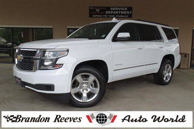 2016 Chevrolet Tahoe for sale at Brandon Reeves Auto World in Monroe NC