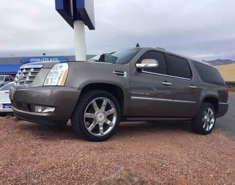 2011 Cadillac Escalade ESV for sale at SPEND-LESS AUTO in Kingman AZ