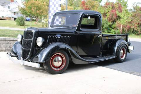 1935 Ford F-100 for sale at Great Lakes Classic Cars & Detail Shop in Hilton NY