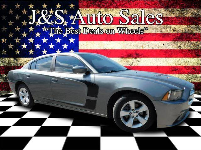 2012 Dodge Charger for sale at J & S Auto Sales in Clarksville TN