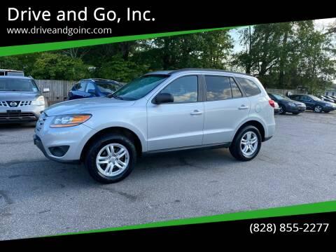 2010 Hyundai Santa Fe for sale at Drive and Go, Inc. in Hickory NC