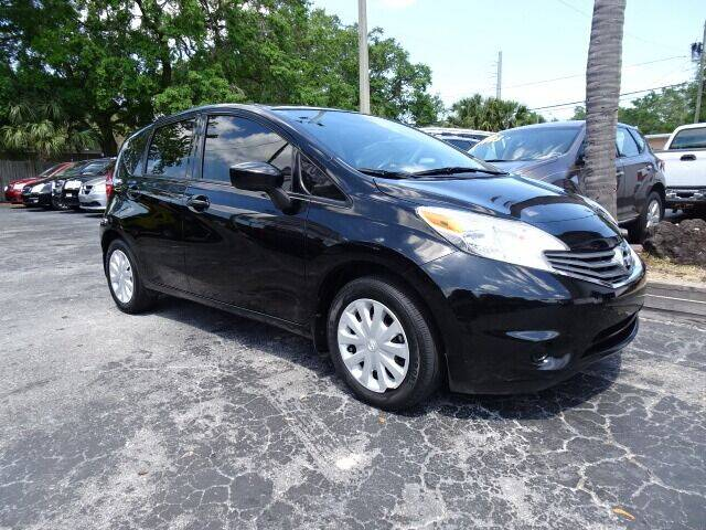 2016 Nissan Versa Note for sale at DONNY MILLS AUTO SALES in Largo FL