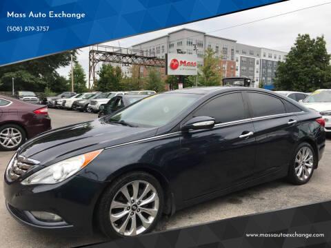2012 Hyundai Sonata for sale at Mass Auto Exchange in Framingham MA