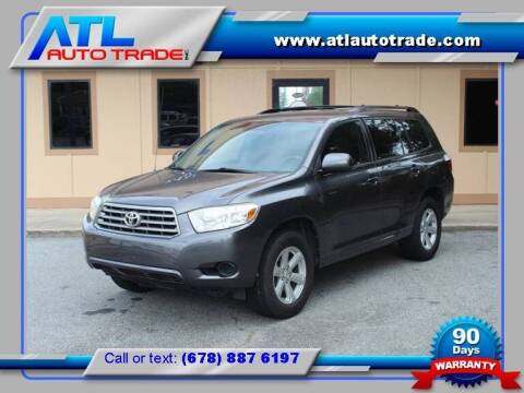 2010 Toyota Highlander for sale at ATL Auto Trade, Inc. in Stone Mountain GA