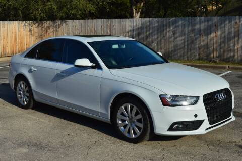 2013 Audi A4 for sale at Coleman Auto Group in Austin TX