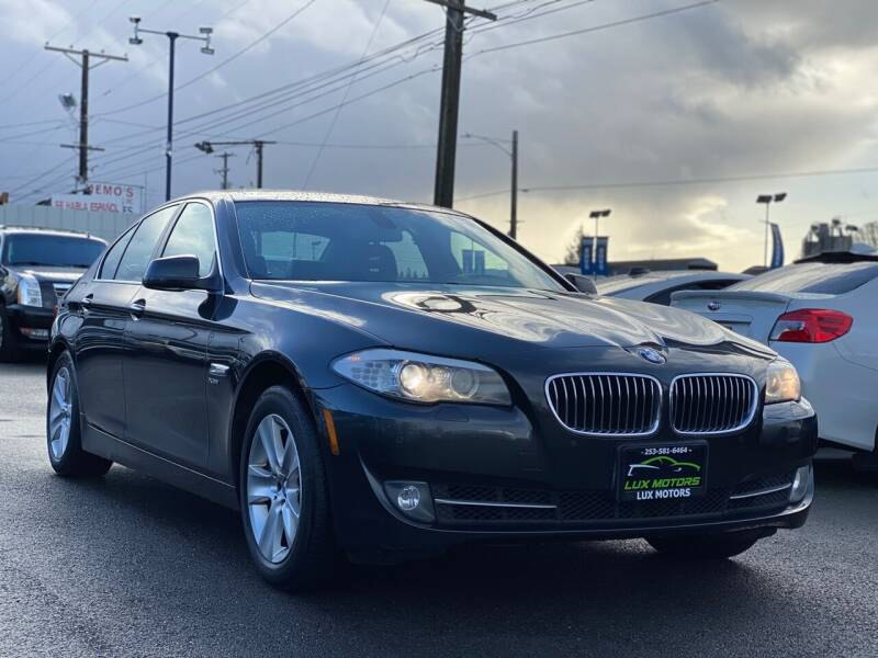 2012 BMW 5 Series for sale at Lux Motors in Tacoma WA