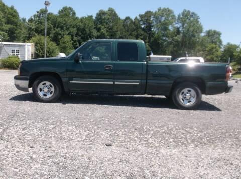 2004 Chevrolet Silverado 1500 for sale at Car Check Auto Sales in Conway SC