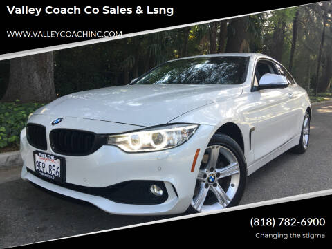 2014 BMW 4 Series for sale at Valley Coach Co Sales & Lsng in Van Nuys CA