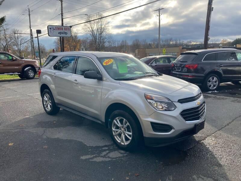 2017 Chevrolet Equinox for sale at JERRY SIMON AUTO SALES in Cambridge NY