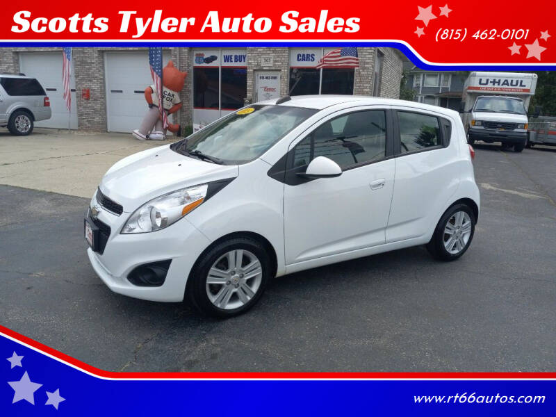 2015 Chevrolet Spark for sale at Scotts Tyler Auto Sales in Wilmington IL