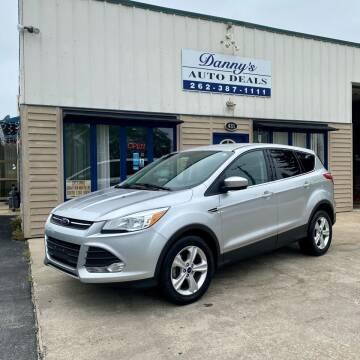 2015 Ford Escape for sale at Danny's Auto Deals in Grafton WI