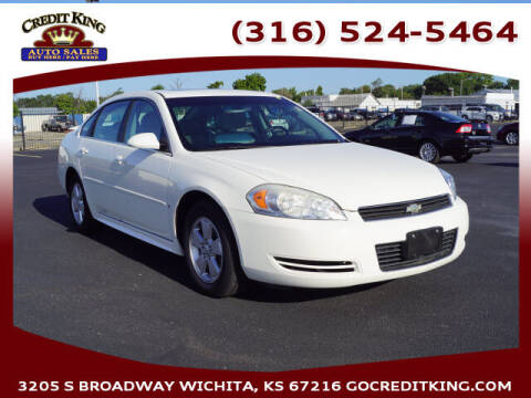 2009 Chevrolet Impala for sale at Credit King Auto Sales in Wichita KS