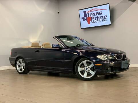 2004 BMW 3 Series for sale at Texas Prime Motors in Houston TX