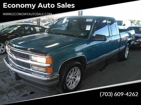 1997 Chevrolet C/K 1500 Series for sale at Economy Auto Sales in Dumfries VA