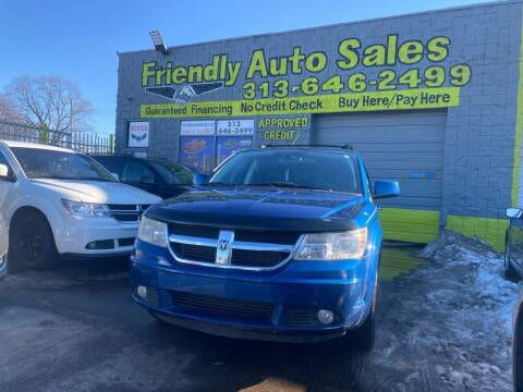 2010 Dodge Journey for sale at Friendly Auto Sales in Detroit MI