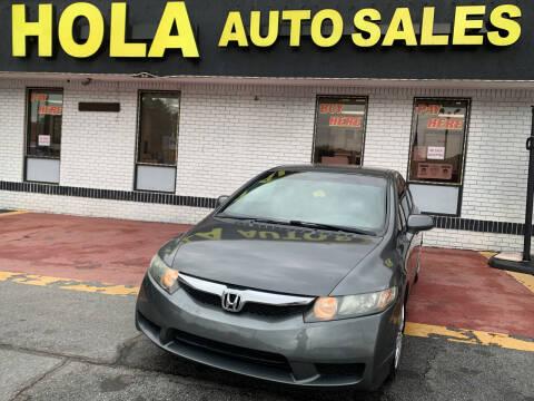 2010 Honda Civic for sale at HOLA AUTO SALES CHAMBLEE- BUY HERE PAY HERE - in Atlanta GA