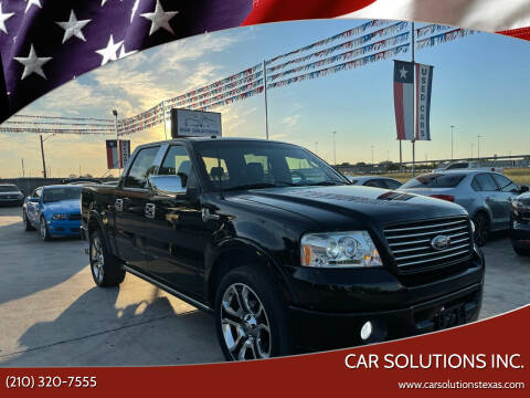 2008 Ford F-150 for sale at Car Solutions Inc. in San Antonio TX