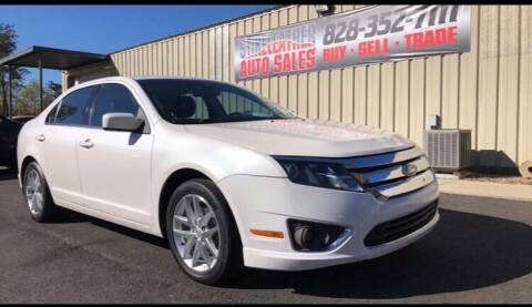 2012 Ford Fusion for sale at Stikeleather Auto Sales in Taylorsville NC