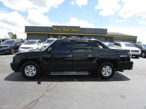 2003 Chevrolet Avalanche for sale at MIRA AUTO SALES in Cincinnati OH