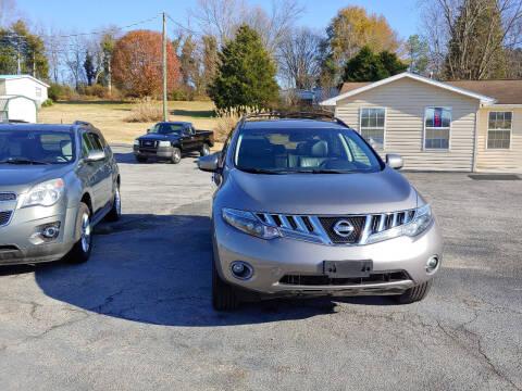 2009 Nissan Murano for sale at K & P Used Cars, Inc. in Philadelphia TN