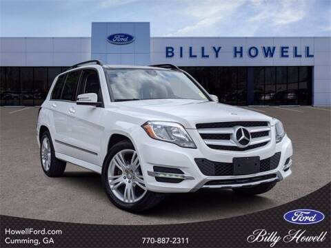 2014 Mercedes-Benz GLK for sale at BILLY HOWELL FORD LINCOLN in Cumming GA