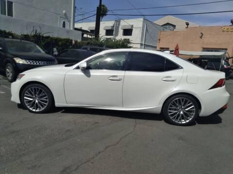 2014 Lexus IS 250 for sale at Western Motors Inc in Los Angeles CA