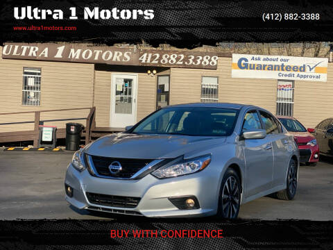 2018 Nissan Altima for sale at Ultra 1 Motors in Pittsburgh PA