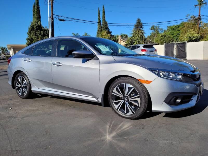 2018 Honda Civic EX-T 4dr Sedan CVT - Escondido CA