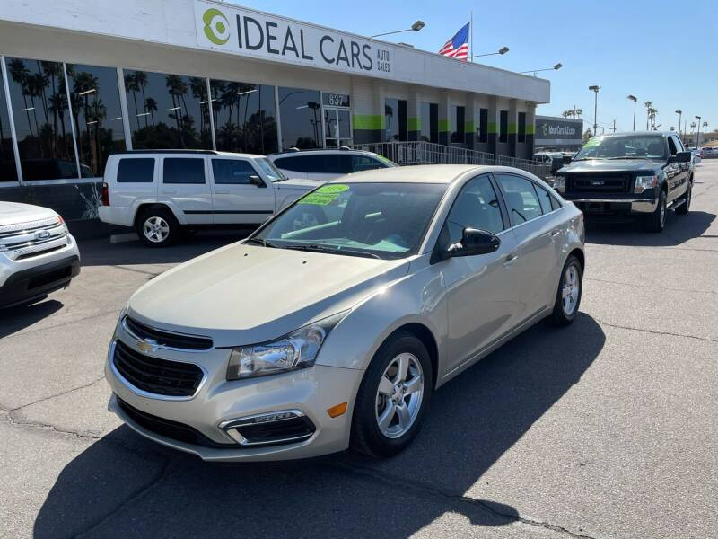 2016 Chevrolet Cruze Limited for sale at Ideal Cars in Mesa AZ