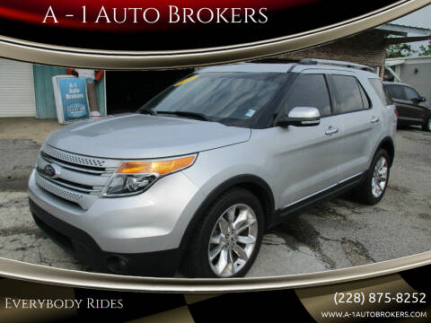 2014 Ford Explorer for sale at A - 1 Auto Brokers in Ocean Springs MS