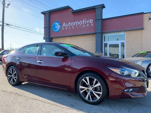 2016 Nissan Maxima for sale at Automotive Solutions in Louisville KY