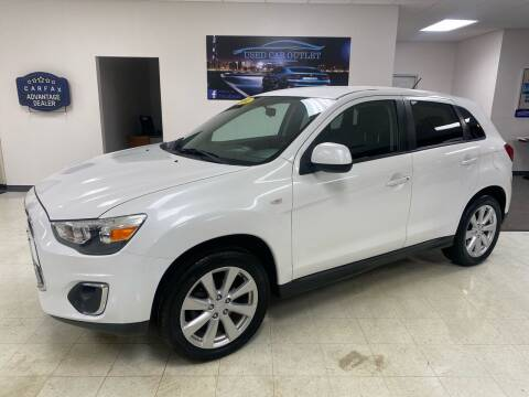 2014 Mitsubishi Outlander Sport for sale at Used Car Outlet in Bloomington IL