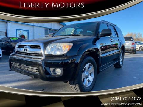 2008 Toyota 4Runner for sale at Liberty Motors in Billings MT