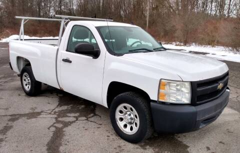 2008 Chevrolet Silverado 1500 for sale at Angelo's Auto Sales in Lowellville OH