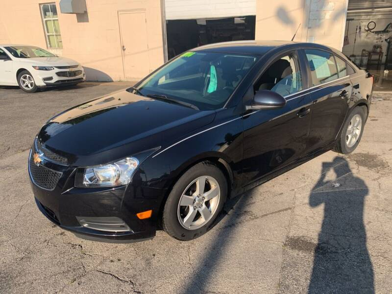 2014 Chevrolet Cruze for sale at PAPERLAND MOTORS in Green Bay WI